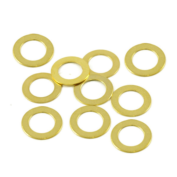 WD Music  Potentiometer Dress Washer 10 Pack Gold PDWG - Ant Hill Music