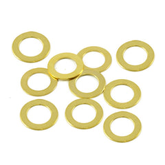 WD Music  Potentiometer Dress Washer 10 Pack Gold PDWG