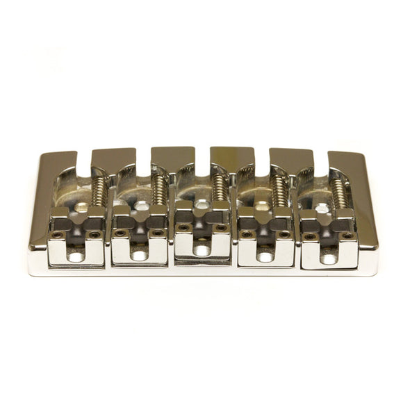 Graph Tech - Ghost Loaded Hipshot A Style Bass Guitar Bridge - 5 String - Chrome - Ant Hill Music