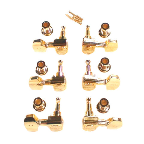 Graph Tech Ratio Tuned Machine Heads 3+3 Acoustic 2 Pin Contemporary PRN-2411-G0