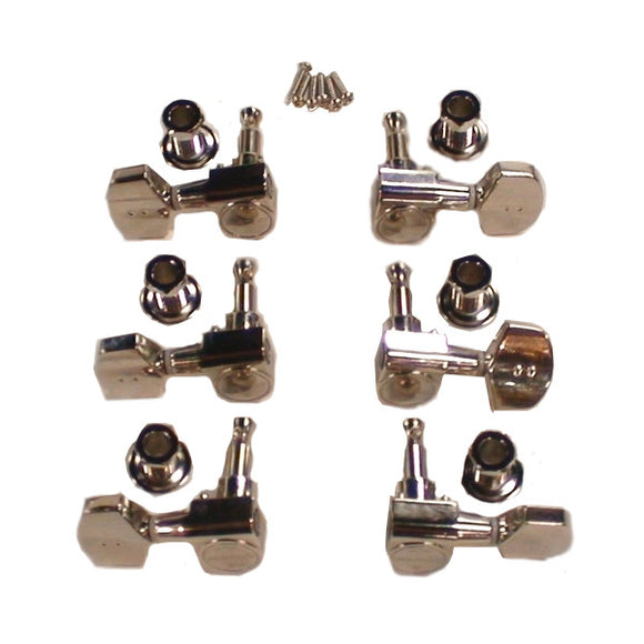 Graph Tech Ratio Tuned Machine Heads 3+3 Acoustic 2 Pin Contemporary PRN-2411-N0 - Ant Hill Music