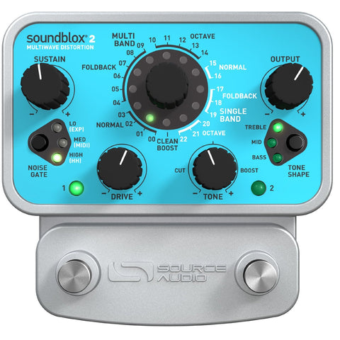Source Audio Soundblox 2 Multiwave Distortion - SA220