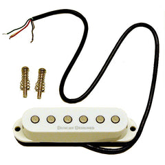 Duncan Designed Stacked Single Coil Pickup 6.45k output fits Strat Style Guitars