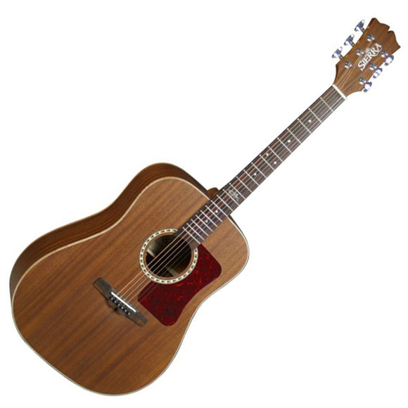 Sierra Guitars Sequoia Series All Mahogany Dreadnought Acoustic Guitar SD65 - Ant Hill Music