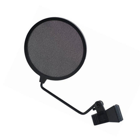 Signal Flex - Microphone POP Filter Kit - 4 in Screen - Flex Arm - Black