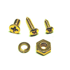 WD Music Mounting Screws for LP Style Pickguard Mounting Bracket in Gold SKJP40G