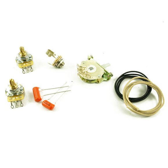 WD Music Fender Tele 4-Way Wiring Kit Diagram,wiring, parts included NO Knobs - Ant Hill Music