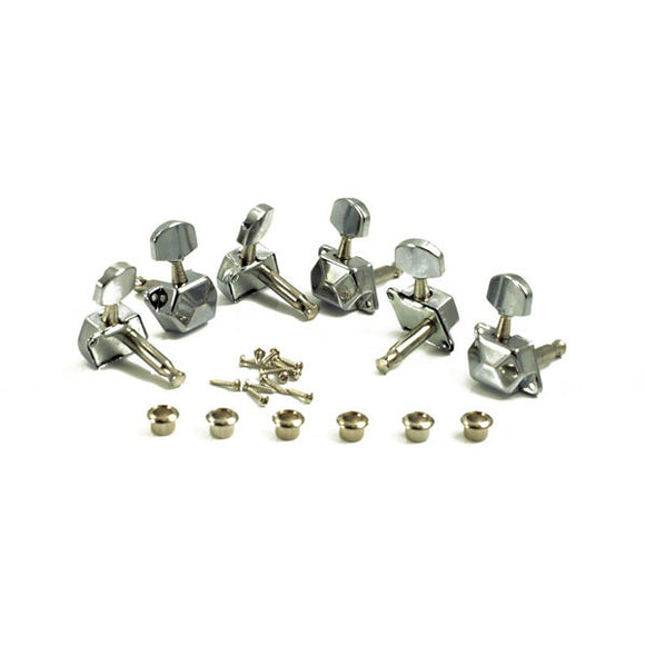 WD Music Guitar Tuning Machines 3x3 Sealed Chrome WD1263C