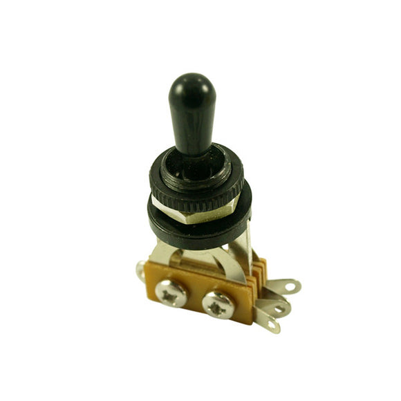 WD Music LP Style Metric Thread Guitar Toggle Switch Black/Black Tip