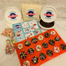 Load image into Gallery viewer, Vanilla Mini Cake Donut Kit - TODAYS BAKER