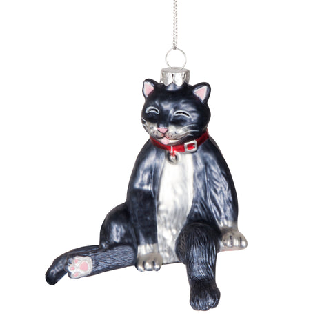 Derpy Cat Ornament