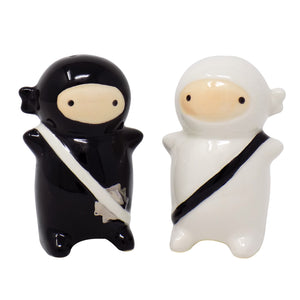 Ninja Salt & Pepper Shakers