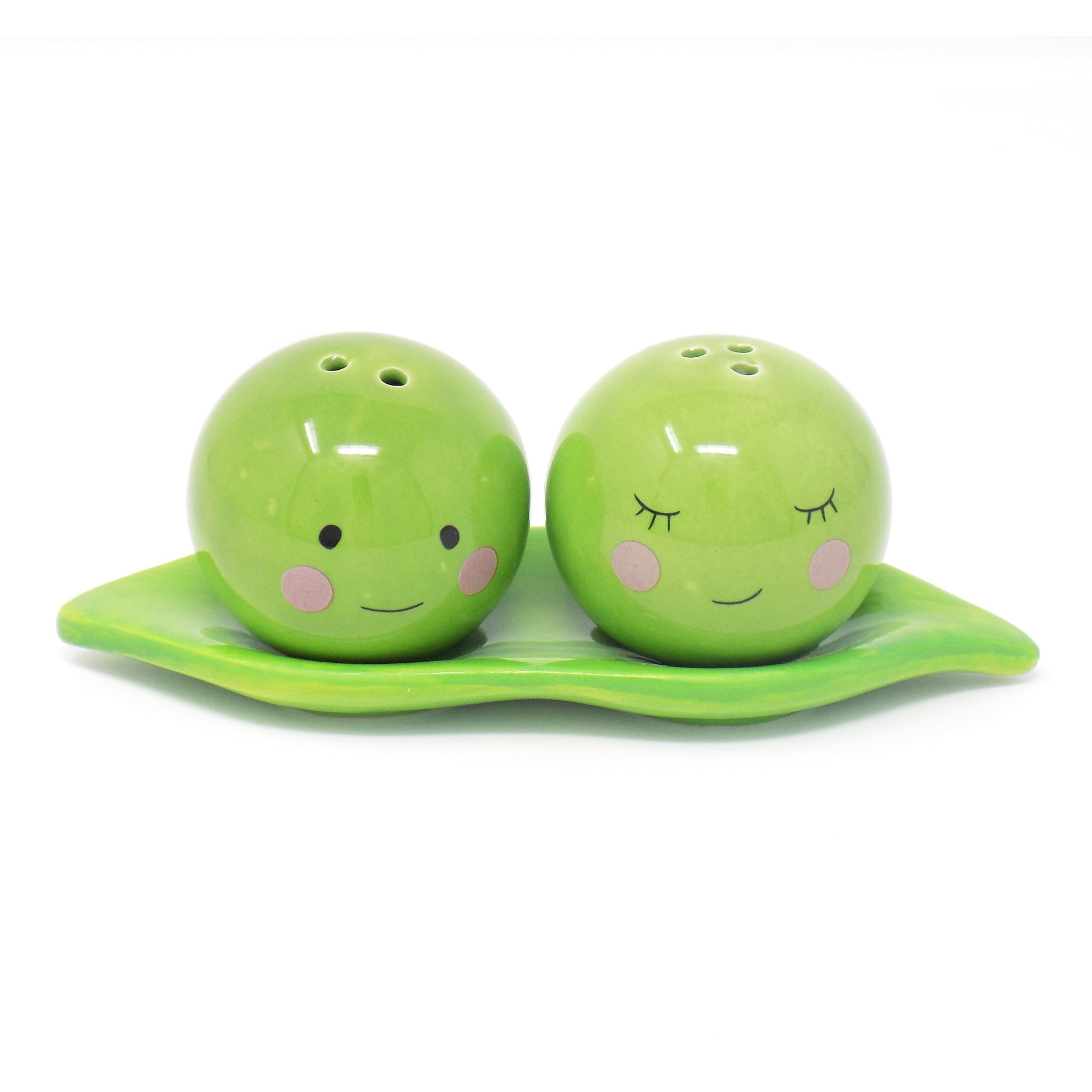 Peas In A Pod Salt & Pepper Shakers