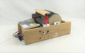 Motorized Mad Batt'r Drum Carder - Single Wide Chain Drive
