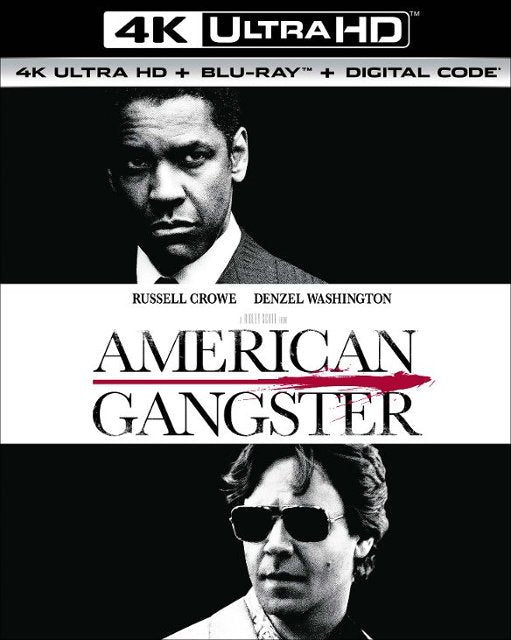 American Gangster (Unrated Extended Edition) 4k