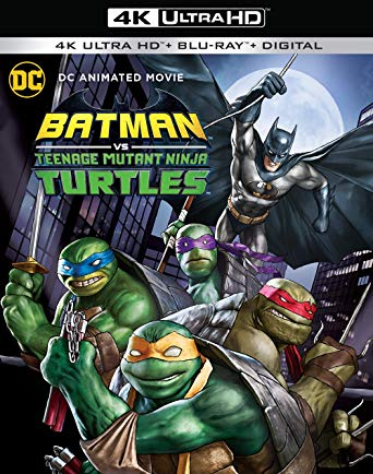 Batman vs Teenage Mutant Ninja Turtles 4k