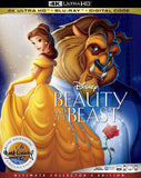 Beauty and the Beast (Animated) (1991) 4k