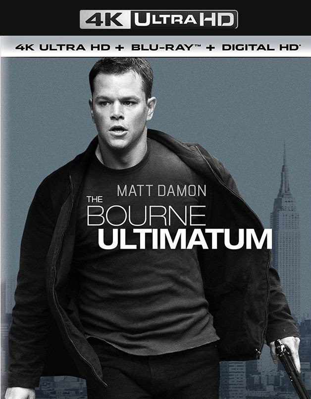Bourne Ultimatum 4K