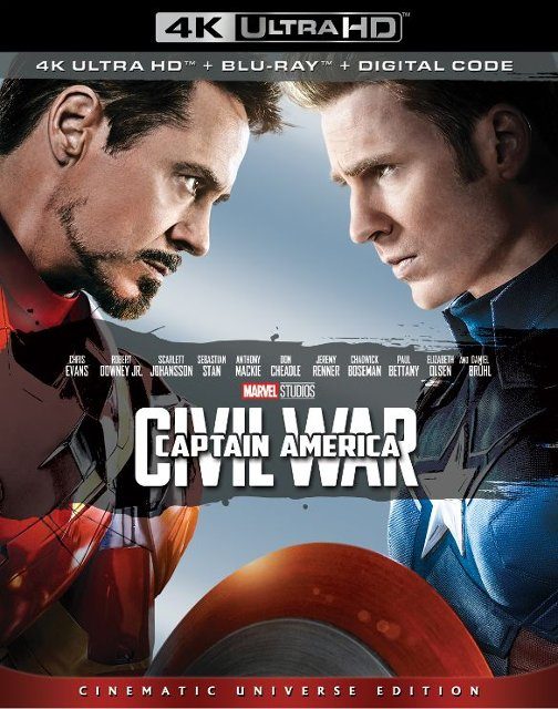 Captain America: Civil War 4k