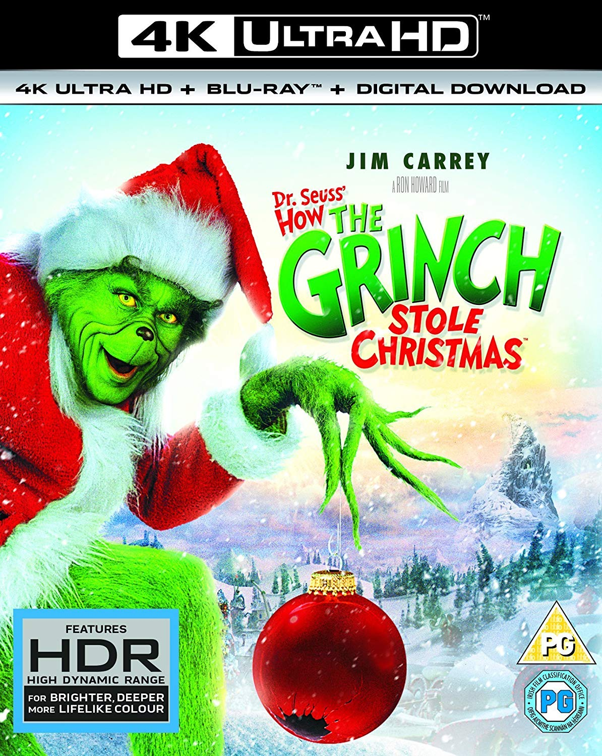 Dr. Seuss' How the Grinch Stole Christmas 4k