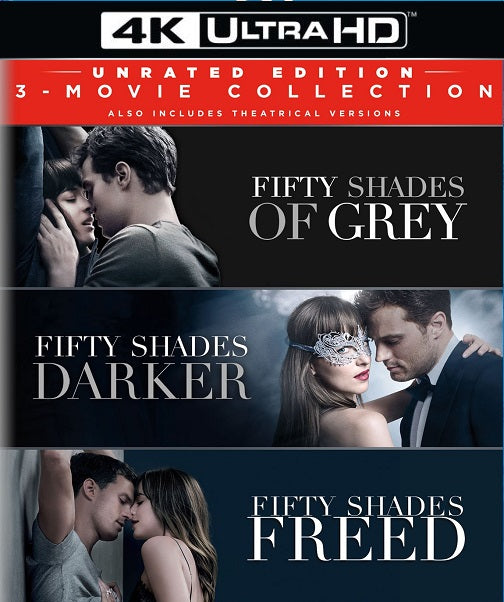 Fifty Shades 3-Movie Bundle (Rated & Unrated)