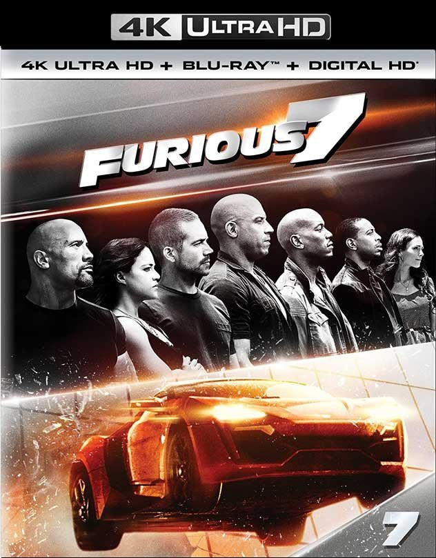 Furious 7 (Extended Edition) 4K