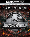 Jurassic World 5-Movie Collection (Bundle) 4k