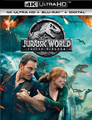 Jurassic World: Fallen Kingdom 4k
