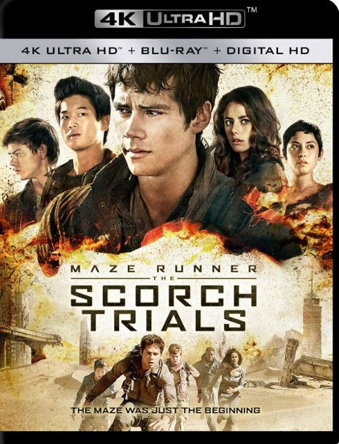 Maze Runner: The Scorch Trials 4k