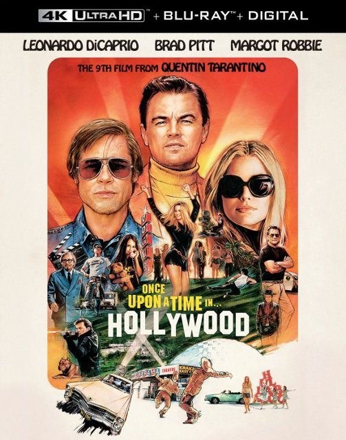 Once Upon a Time...In Hollywood 4k