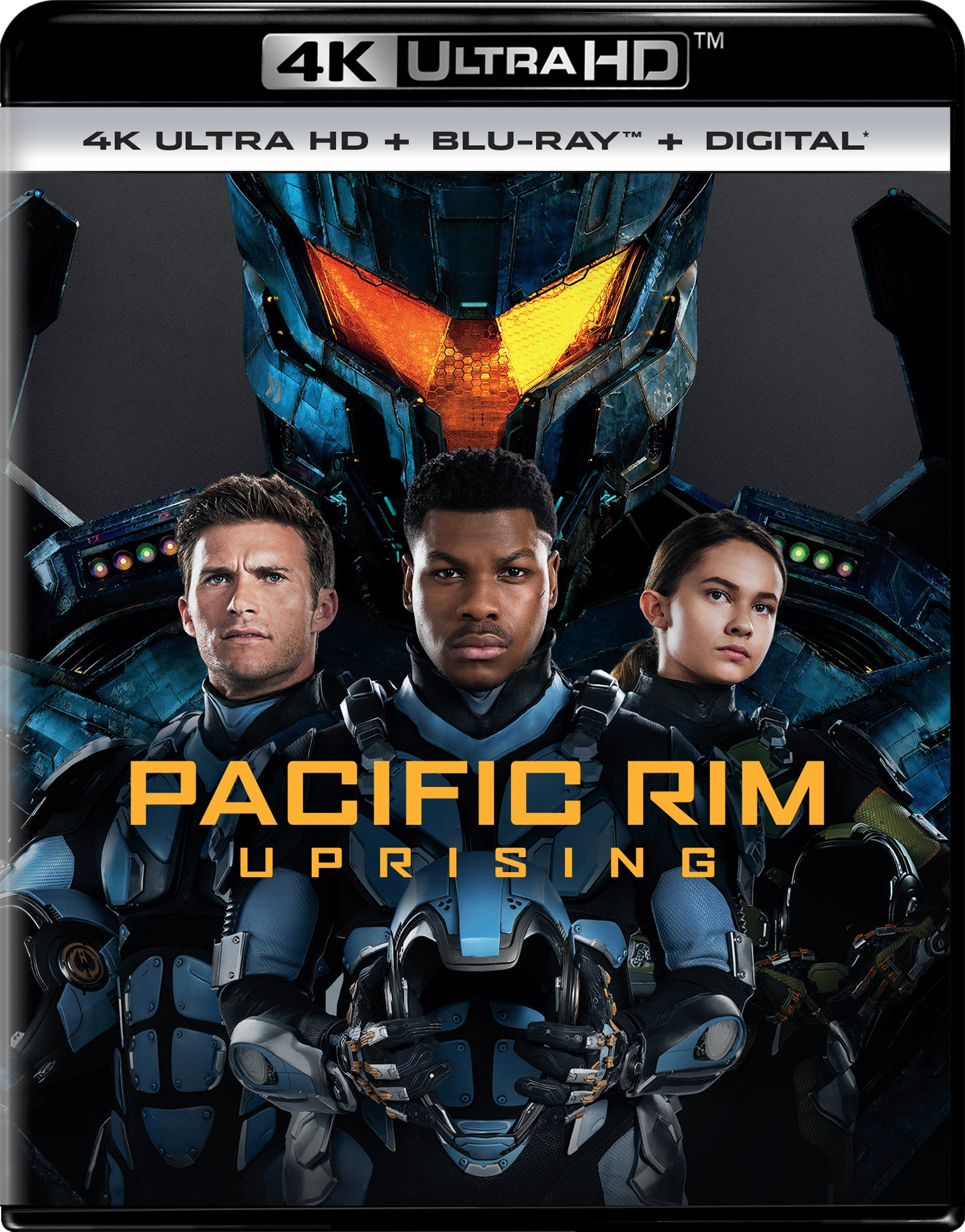 Pacific Rim Uprising 4k