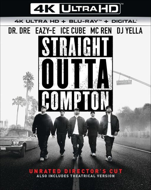 Straight Outta Compton (Unrated Director's Cut) 4k