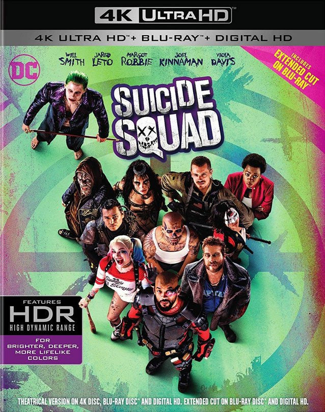 Suicide Squad (Extended plus Theatrical Cut) 4K
