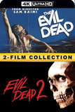 The Evil Dead 1 & 2 Double Feature (Bundle) 4k