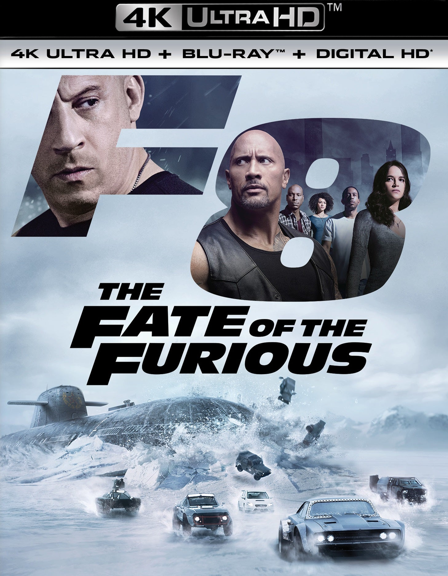 The Fate of the Furious (Theatrical) 4k