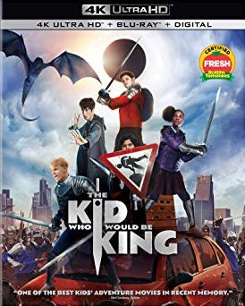 The Kid Who Would Be King 4k