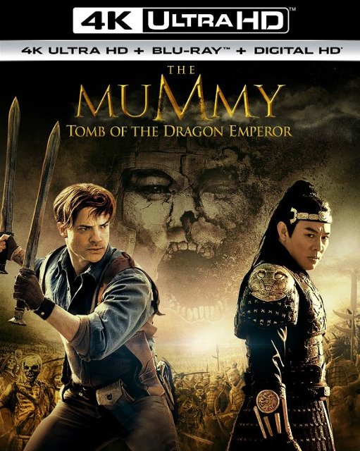 The Mummy: Tomb of the Dragon Emperor 4K