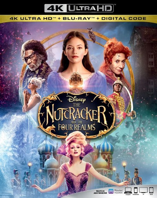 The Nutcracker and the Four Realms 4k