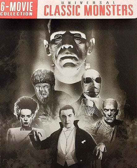 Universal Classic Monsters 6-Movie Collection