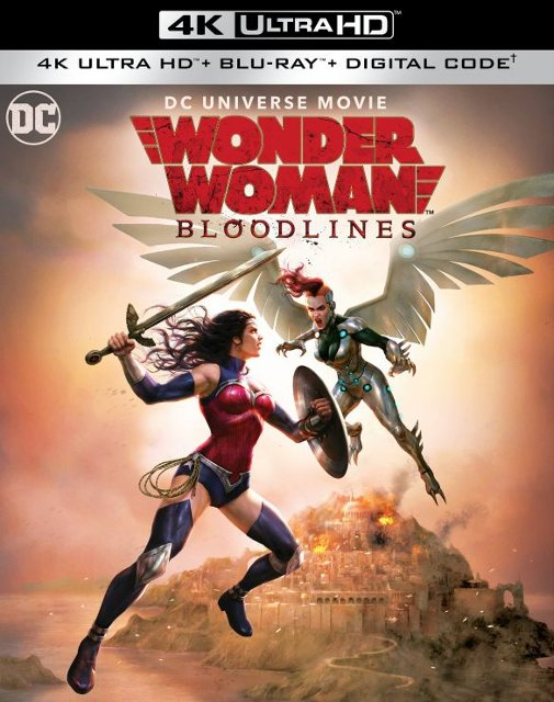 Wonder Woman: Bloodlines 4k