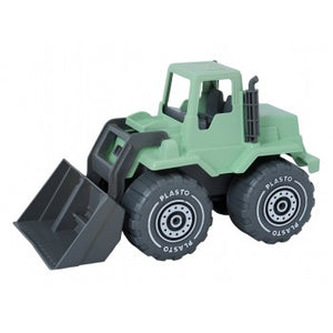 i am green front loader - 30cm