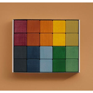 raduga grez 20 cubes set - earth