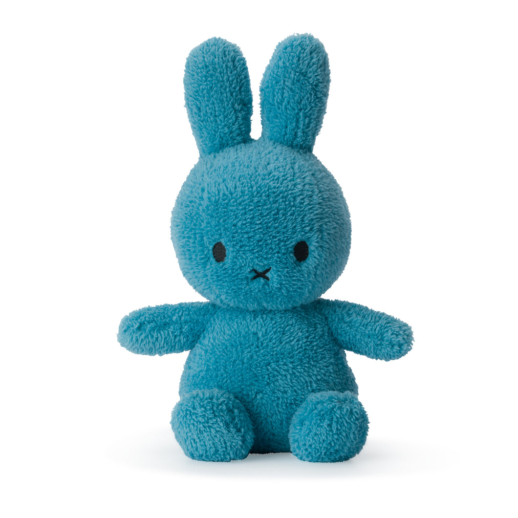 miffy sitting plush - blue