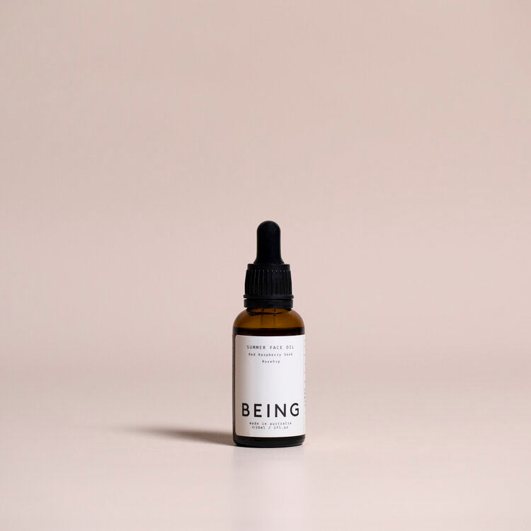 being summer face oil