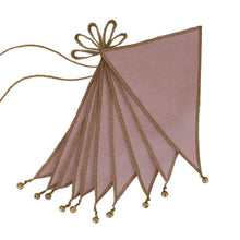 Load image into Gallery viewer, numero 74 bunting garland - dusty pink