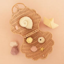 Load image into Gallery viewer, olliella shell bag - rose