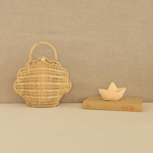 Load image into Gallery viewer, olliella shell bag - natural