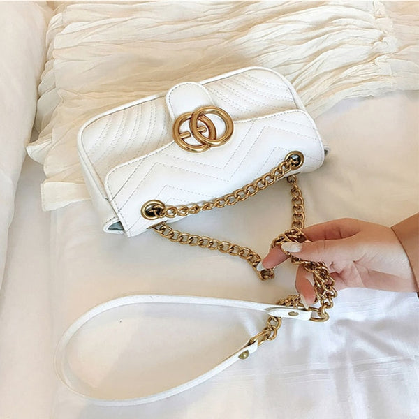 Holly Luxury Vertical Chain Bag