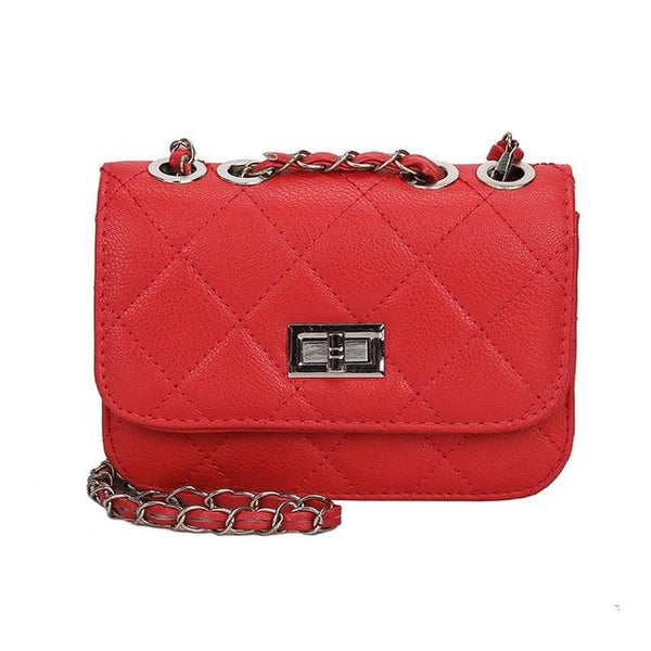 Florence Luxury Leather Chain Crossbody Bag