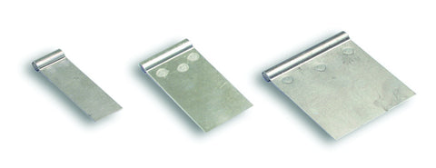 C-PRA-05-157A - Weld on Aluminum Plate 80 x 25mm (5 pc)